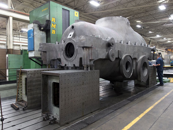 Concorde Large Machining