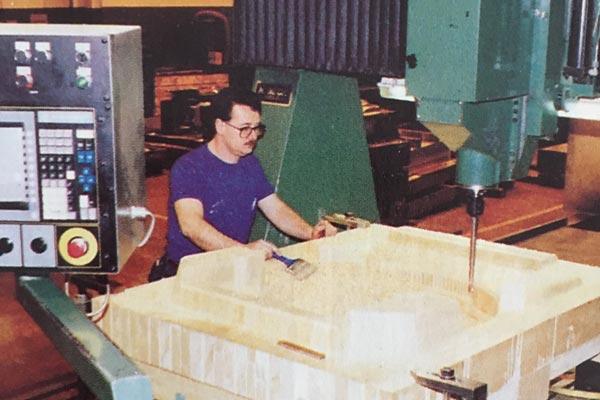 First CNC Machine