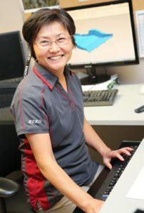 Reko Tool Female Employee