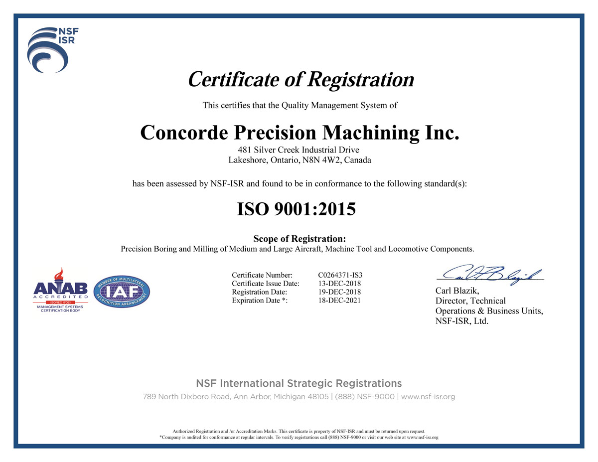 RMG-ISO-Certification